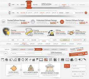 立体网页元素