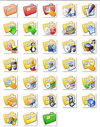 网页卡通图标png格式设计素材