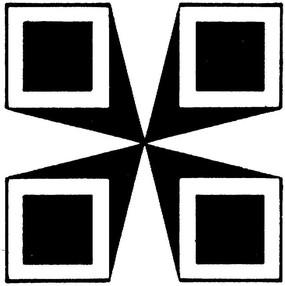 黑白幾何圖案圖片