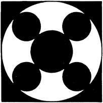 几何体构成对称图案