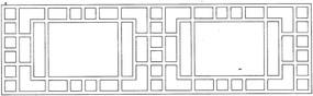 方形木雕参考图