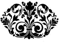对称花边雕刻参考图