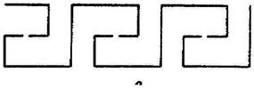 簡單線性鏤空花紋素材下載