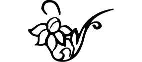 簡單花朵矢量花紋素材下載