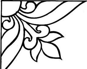 簡單三角形花紋圖案矢量素材下載