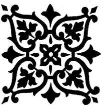 四角装饰图案