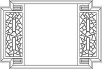 屏风图案剪纸花纹参考图