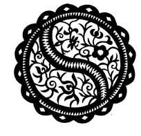 花纹剪纸图案
