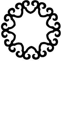 简单创意纹身图案矢量图
