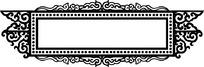 漂亮中式装饰花纹边框
