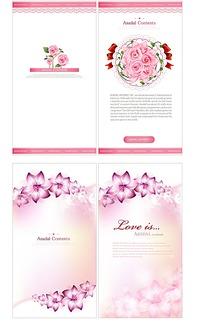 粉色封面设计