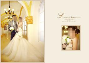 婚礼邀请函模板封面设计