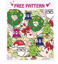 圣诞元素海报背景