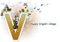卡通字母V图片