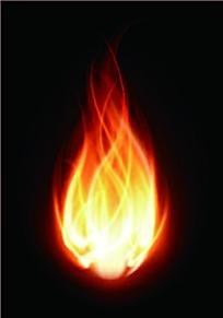 燃烧的火苗