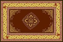 复古地毯图案