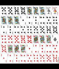 广告牌扑克牌广告