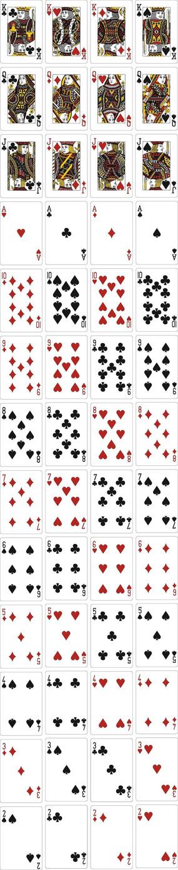 精美房地产扑克牌模版