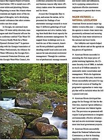小溪河流画册设计