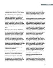 工整文字排版内页设计