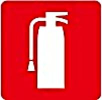 红白灭火器图标素材