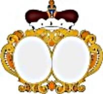 欧洲金色皇冠徽章