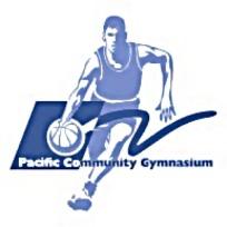 蓝色篮球运动LOGO