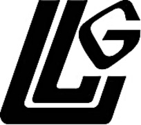 字母LG创意黑白标志