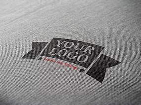 服装logo样机