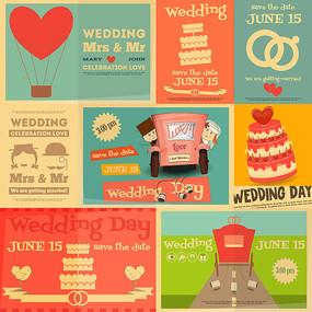 复古婚礼海报