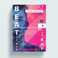 欧美时尚杂志封面设计