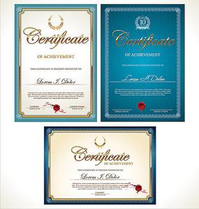 荣誉证书设计eps