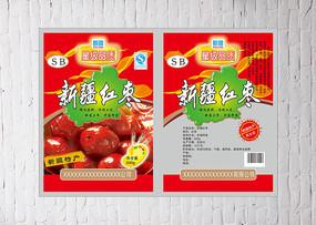 红枣包装袋设计