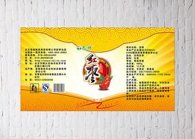 红枣包装标贴设计