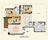 别墅平面户型图模板