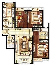 欧美风格家具平面图