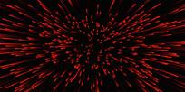 红色酷炫发射线条背景