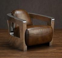 皮椅子3d模型
