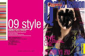 時尚雜志封面